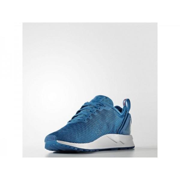 Adidas Herren ZX Flux Originals Schuhe - Unity Blue F16/Ray Red F16/Ftwr White