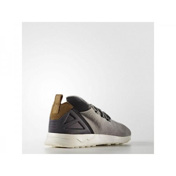 Adidas ZX Flux für Herren Originals Schuhe - Light Onix/Craft Khaki F16/Chalk White
