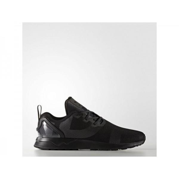 Adidas Herren ZX Flux Originals Schuhe - Black/Black/Ftwr White