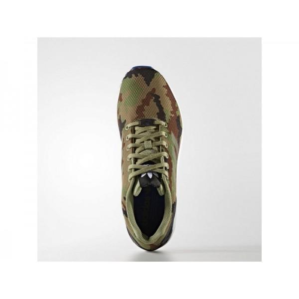 Adidas Herren ZX Flux Originals Schuhe - Tent Green F16/Black/Collegiate Royal