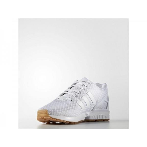 Adidas ZX Flux für Herren Originals Schuhe Online - Ftwr White/Ftwr White/Gum4