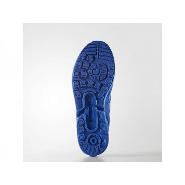 Adidas Herren ZX Flux Originals Schuhe - Blue/Blue/Bold Blue Adidas S32280
