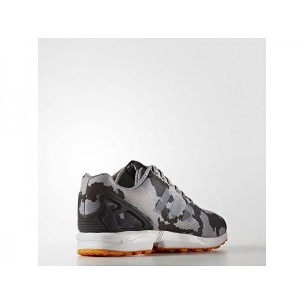Adidas ZX Flux für Herren Originals Schuhe - Mgh Solid Grey/Black/Eqt Orange S16