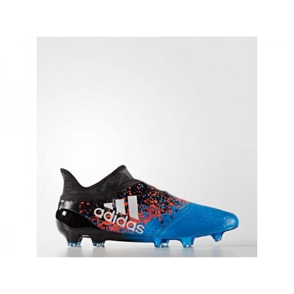 Adidas X 16 für Herren Fußball Schuhe - Black/Ftwr White/Shock Blue S16