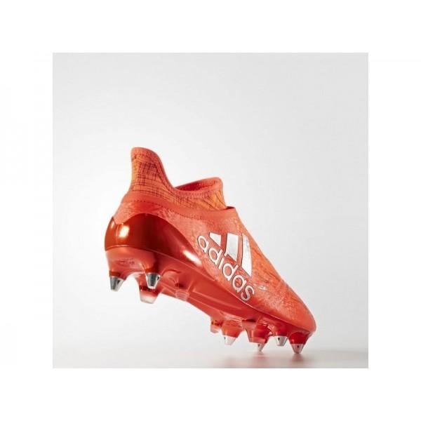 Adidas Herren X 16 Fußball Schuhe - Solar Red/Silver Met./Hi-Res Red F13