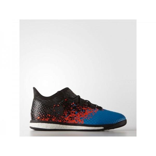 Adidas X 16 für Herren Fußball Schuhe - Black/Black/Shock Blue S16