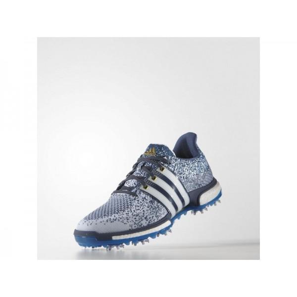 Adidas Tour 360 für Herren Golf Schuhe Verkaufen - White/Shock Blue/Blue Adidas F33345