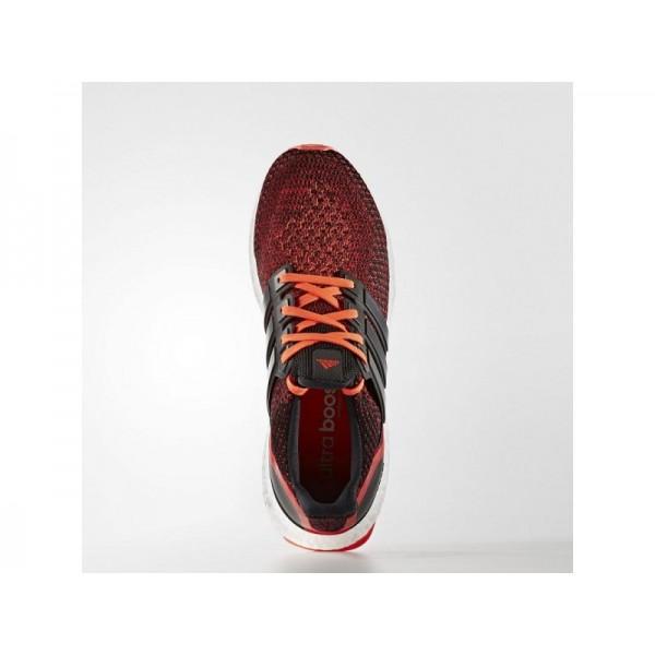 Adidas Ultra Boost für Herren Running Schuhe - Black/Black/Solar Red