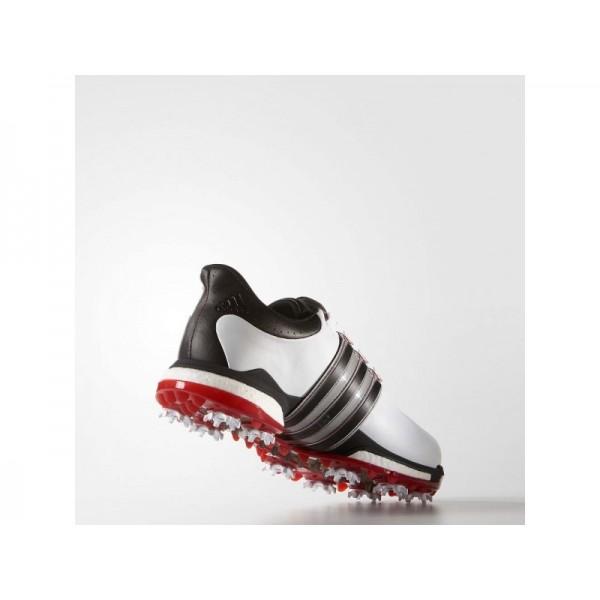 Adidas Tour 360 für Herren Golf Schuhe Verkaufen - White/Black/Power Red