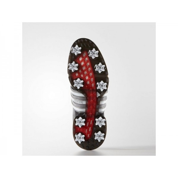 Adidas Herren Tour 360 Golf Schuhe - Black/White/Power Red Adidas F33410