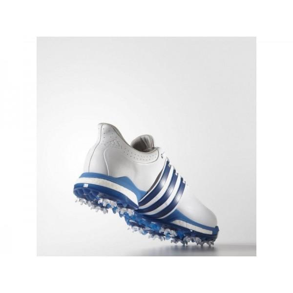 Adidas Tour 360 für Herren Golf Schuhe Verkaufen - White/Blue/Shock Blue Adidas F33264