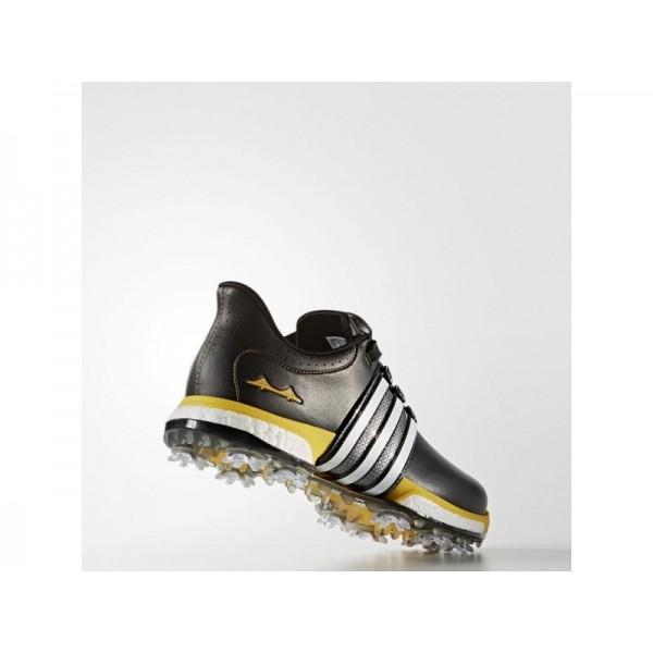 Adidas Herren Tour 360 Golf Schuhe - Black/Ftwr White/Bold Gold