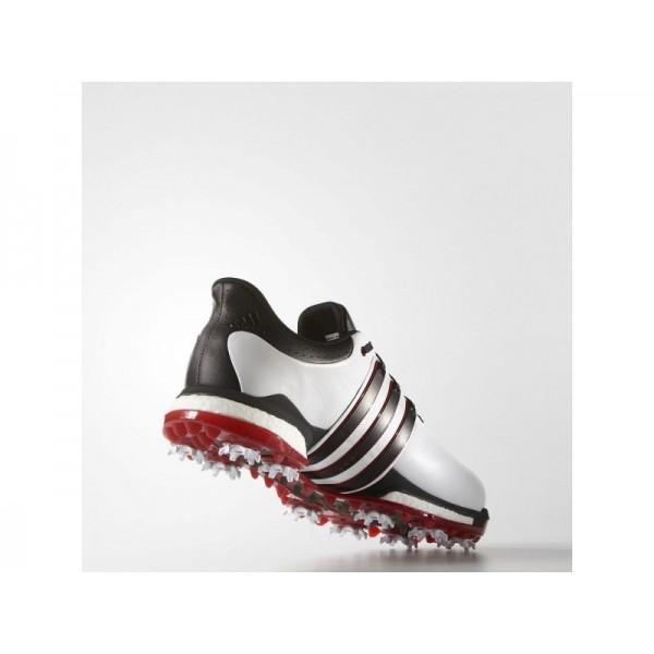 Adidas Tour 360 für Herren Golf Schuhe Verkaufen - White/Black/Power Red Adidas F33260