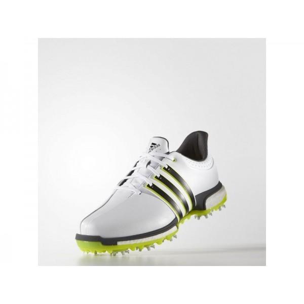 Adidas Tour 360 für Herren Golf Schuhe Verkaufen - White/Black/Solar Yellow