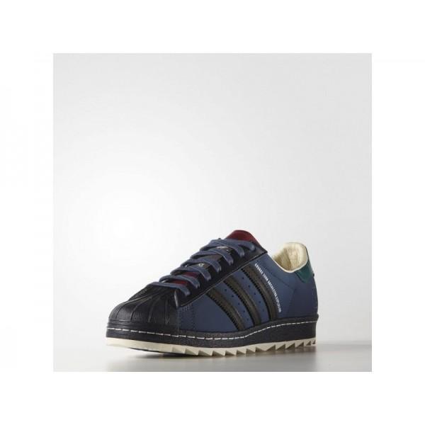 Adidas Herren Superstar Originals Schuhe - Night Marine/Night Navy/Collegiate Burgundy