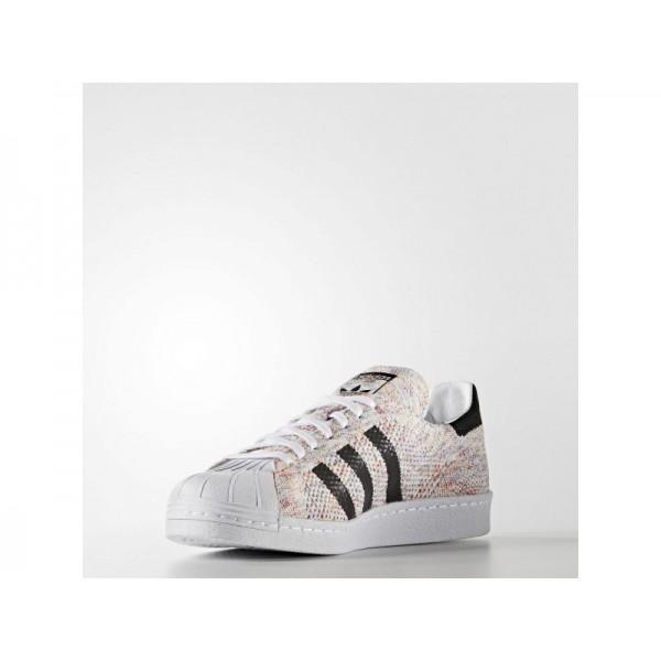 Adidas Herren Superstar Originals Schuhe Online - Ftwr White/Ftwr White/Black