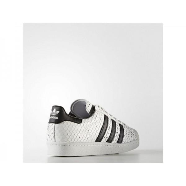 Adidas Herren Superstar Originals Schuhe - Vintage White S15-St/Black/Mineral Blue S16