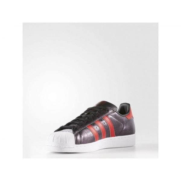 Adidas Superstar für Herren Originals Schuhe - Black/Collegiate Red/Collegiate Red