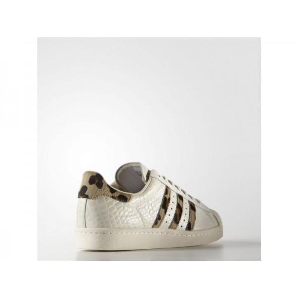 Adidas Superstar für Herren Originals Schuhe - Chalk White/Gold Metallic