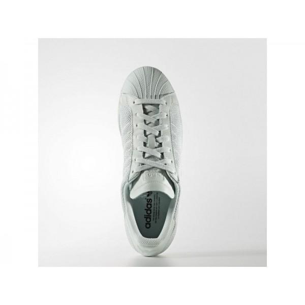 Adidas Herren Superstar Originals Schuhe - Vapour Green F16/Vapour Green F16/Vapour Green F16