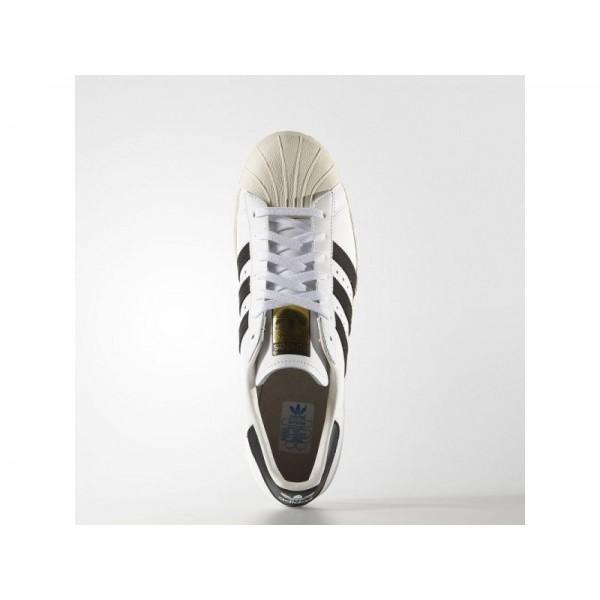 Adidas Herren Superstar Originals Schuhe Verkaufen - White/Black/Chalk White