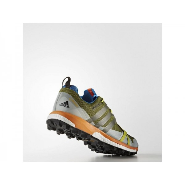 adidas Sneakers TERREX AGRAVIC GTX Herren Schuhe - Unity Lime F16/Kern Schwarz/Unity orange F16