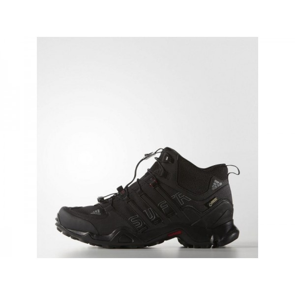 adidas Sneakers TERREX SWIFT R MID GTX Herren Schuhe - Schwarz/Vista Grau/Power Red