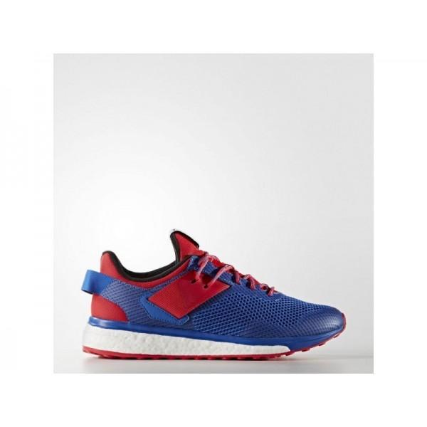 adidas Laufschuhe RESPONSE 3 Herren Schuhe - Blau/Ray Red F16/Kern Schwarz