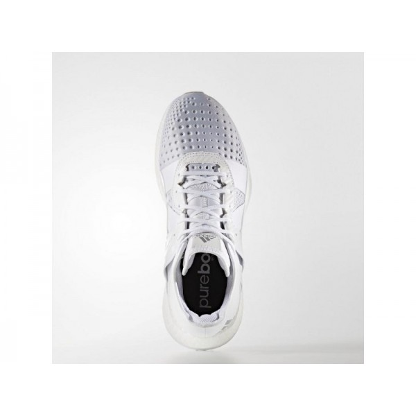 adidas Trainingsschuhe PURE BOOST ZG TRAINER Herren Schuhe - Weiß/Silber Met./Schwarz
