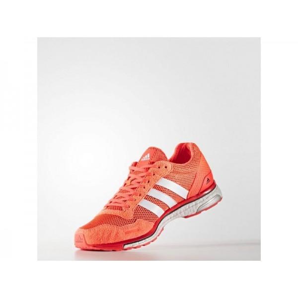 adidas Laufschuhe ADIZERO ADIOS 3 Herren Schuhe - Solar-Rot/Weiß/Schwarz