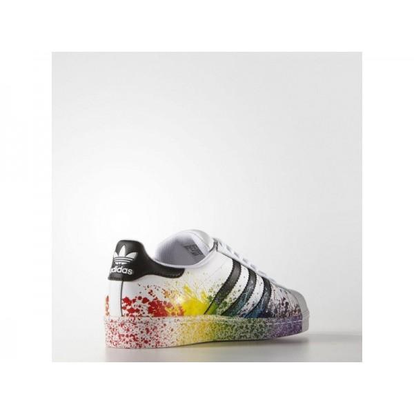 Adidas Herren Superstar Originals Schuhe Verkaufen - White/Black/White Adidas D70351