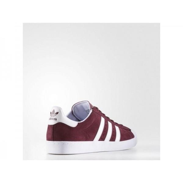 Adidas Herren Superstar Originals Schuhe - Maroon/Ftwr White/Ftwr White