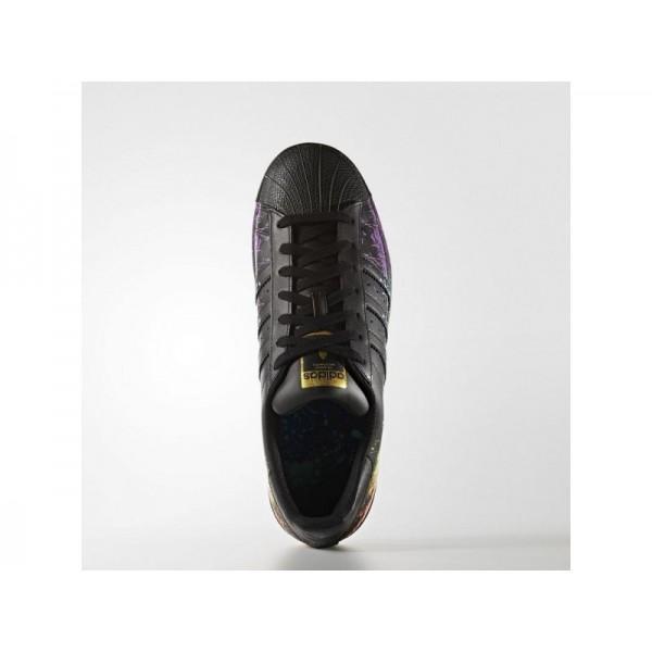 Adidas Superstar für Herren Originals Schuhe - Black/Black/Gold Met.