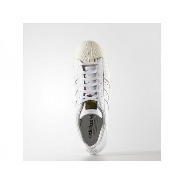 Adidas Herren Superstar Originals Schuhe Verkaufen - White/Cream White