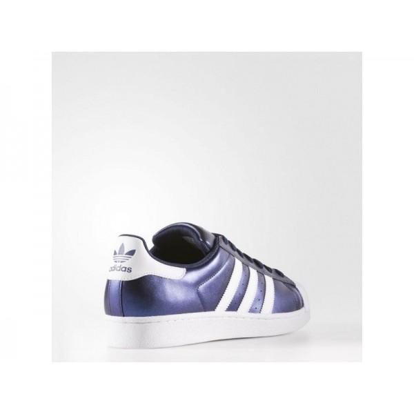 Adidas Superstar für Herren Originals Schuhe - Bold Blue/Ftwr White/Ftwr White