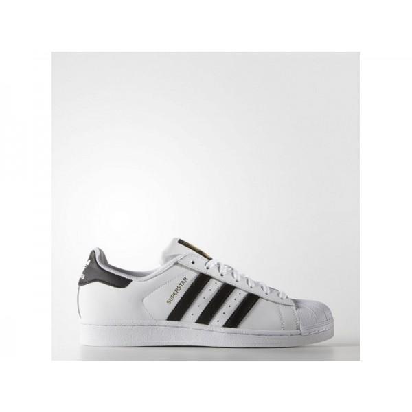 Adidas Herren Superstar Originals Schuhe Verkaufen - White/Black Adidas C77124