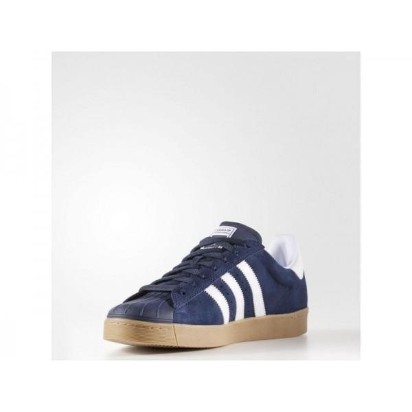 Adidas Superstar für Herren Originals Schuhe günstig - Collegiate Navy/Ftwr White/Gum4