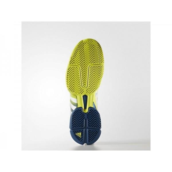 adidas Tennis BARRICADE 2018 Herren Schuhe - Shock Slime F16/Weiß/Tech Stahl F16