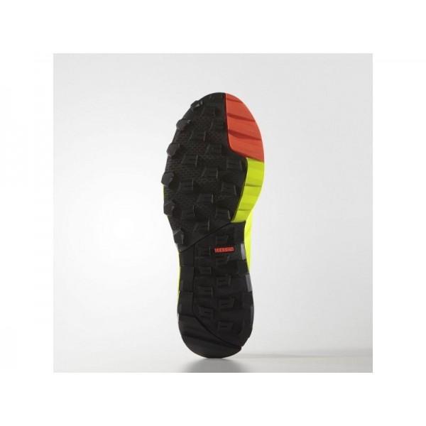 adidas Laufschuhe KANADIA 8 TRAIL Herren Schuhe - Solar-Gelb/Kern Schwarz/Onix
