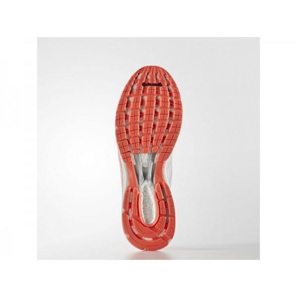 adidas Laufschuhe ADIZERO BOSTON 6 Herren Schuhe - Weiß/Solar-Rot