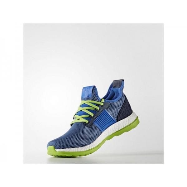 adidas Laufschuhe PURE BOOST ZG Herren Schuhe - Blau/Collegiate Navy/Semi Solar Green