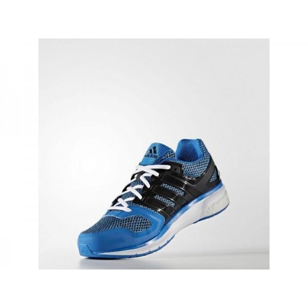 adidas Laufschuhe QUESTAR BOOST Herren Schuhe - Shock Blau S16/Kern Schwarz/Weiß
