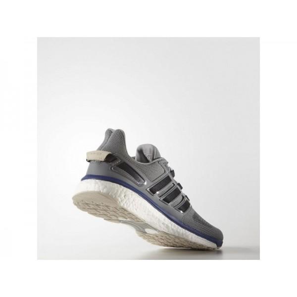 adidas Laufschuhe ENERGY BOOST 3 Herren Schuhe - Mid Grau S14/Unity Ink F16/F16 Dampf Grün