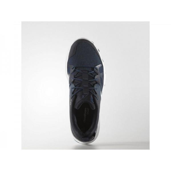 adidas Laufschuhe KANADIA 8 TRAIL Herren Schuhe - Nacht Navy/Weiß/Tech Stahl F16