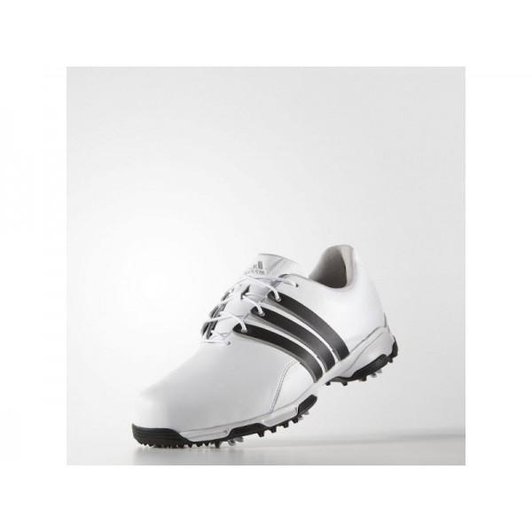 Golfschuhe Adidas 'Pure Traxion WD' Weiß/Schwarz-für Herren Schuhe