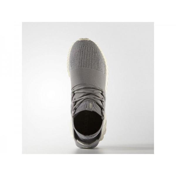 adidas Originals TUBULAR DOOM PRIMEKNIT Herren Schuhe - Fest Grau/Fest Grau/Creme Weiß