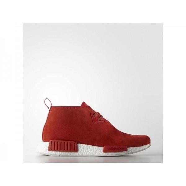 adidas Originals NMD_C1 Herren Schuhe - Lush Rot/Lush Rot/Chalk White