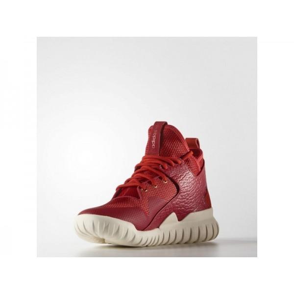 adidas Originals TUBULAR X CHINESE NEW YEAR Herren Schuhe - Power-Rot/Rot/Gold Metallic