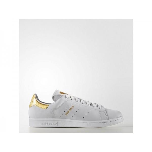 adidas Originals STAN SMITH GOLD LEAF SHOES Herren Schuhe - Altweiß/Mattgold