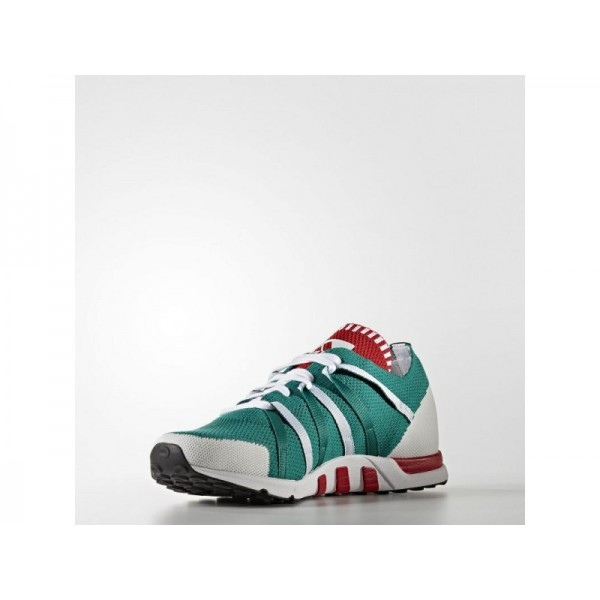 adidas Originals EQT RACING 93 PRIMEKNIT Herren Schuhe - Sub Grün/Weiß/Rot Collegiate